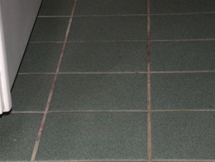 Dirty Tile Before