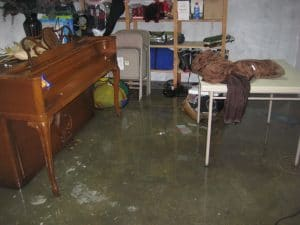 water damage cleanup gilford